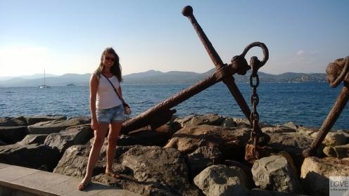 radość w Saint-Tropez, Lazurowe Wybrzeże
