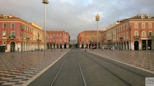 Plac Massena - Nicea
