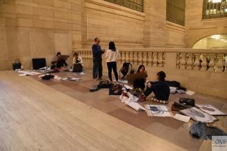 Artyści w Grand Central Terminal