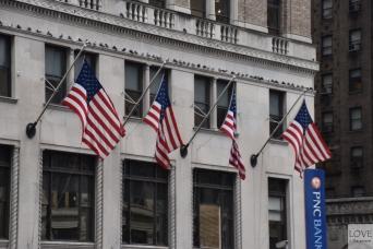Dzielnica finansowa na Manhattanie
