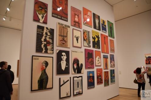 Plakaty w MOMA