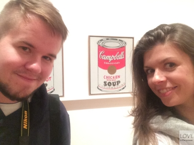 MOMA - Campbell's Soup Cans by Andy Warhol