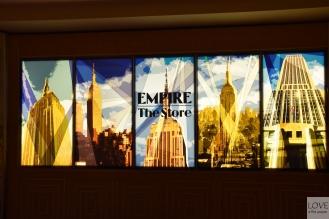 Sklep z pamiątkami w Empire State Building