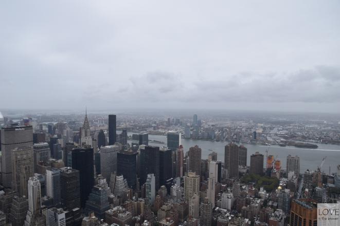 Manhattan widziany z Empire State Building
