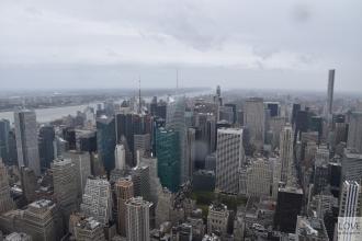 Panorama Nowego Jorku z Empire State Buliding