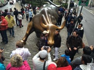 Byk na Wall Street