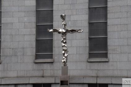 Krzyż w okolicach ground zero