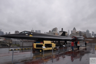 "Lockheed A -12 ""Blackbird"" - Intrepid Museum New York"