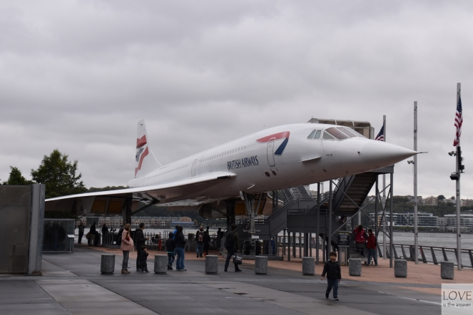 Concorde - muzeum Intrepid