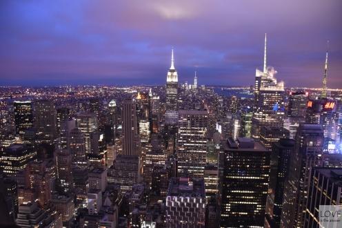 Top of The Rock - Taras na Rockefeller Center