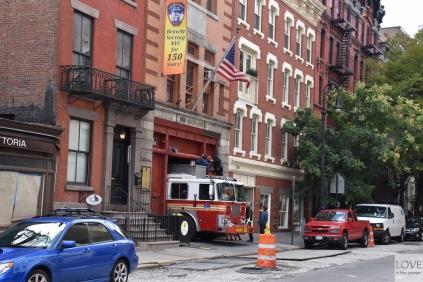 Straż pożarna w Nowym Jorku
