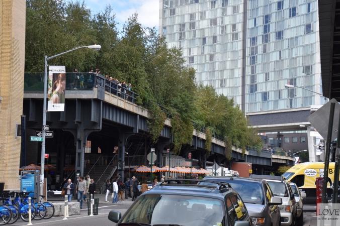 High line Park - Nowy Jork