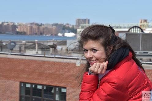 Karina w High Line Park
