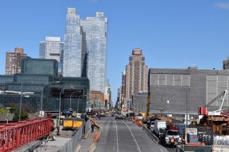 Nowy Jork widziany z Highline park