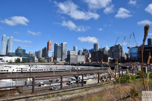 Manhattan widziany z High Line Park