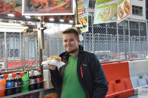 Nowojorski hot-dog!