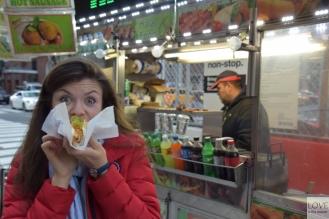 Hot Dog na nowojorskiej ulicy