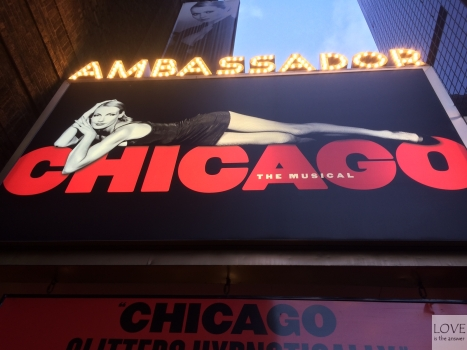 Musical Chicago na Broadwayu (teatr Ambassador)