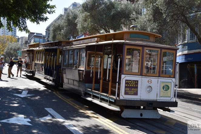 Cable Cars w San Francisco
