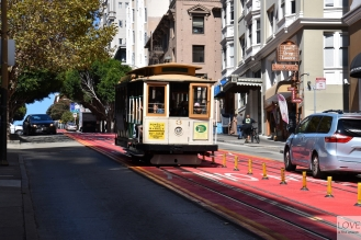 Cable Car w San Francisco