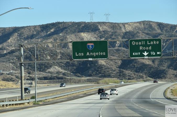 W drodze do Los Angeles