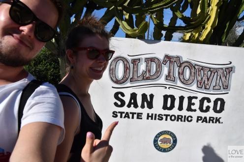 Stare miasto w San Diego