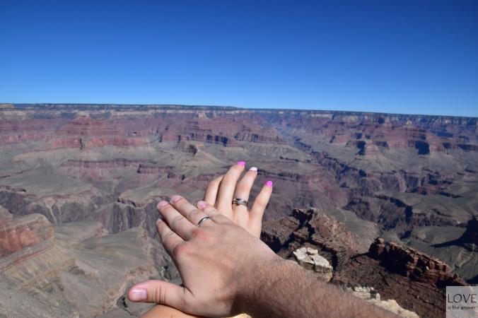 poślubny Wielki Kanion
