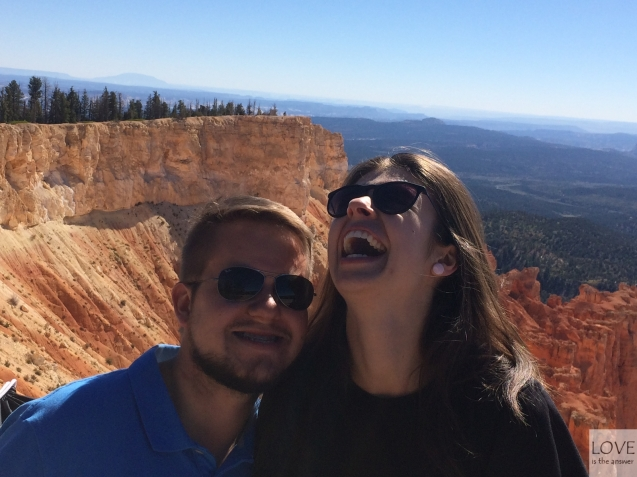 radość w Bryce Canyon :D
