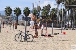 sport na plaży w Santa Monica
