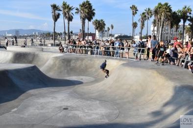 skate park w Venice Beach