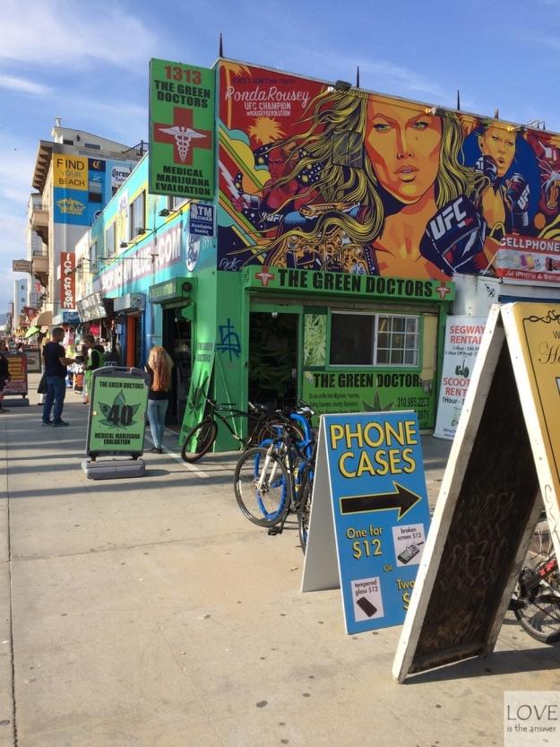 Zielony Doktor w Venice Beach