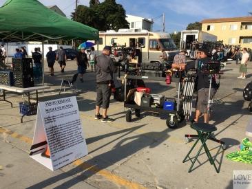 plan filmowy w Venice Beach