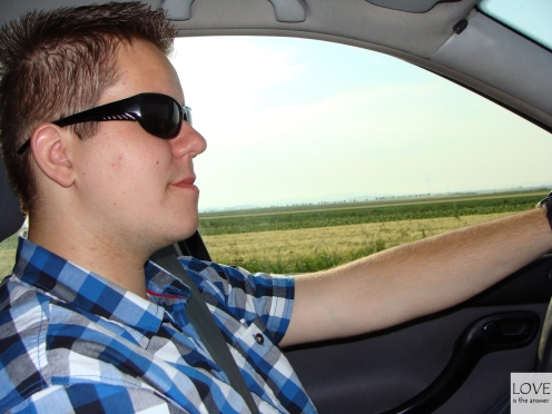 Sebastian w drodze