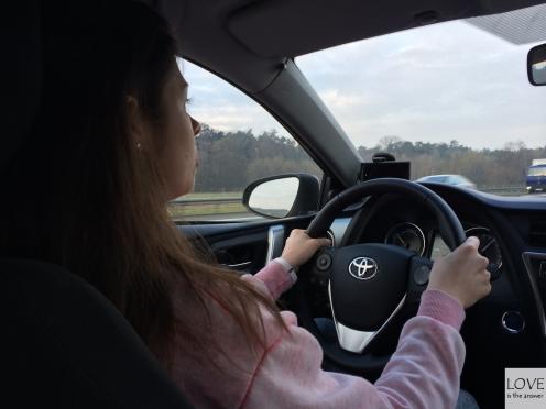Karina w drodze
