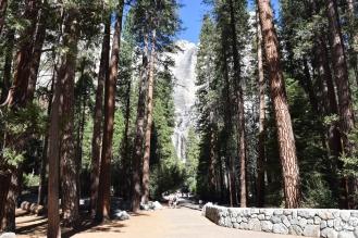 Tu byłem. Wodospad.- Park Yosemite