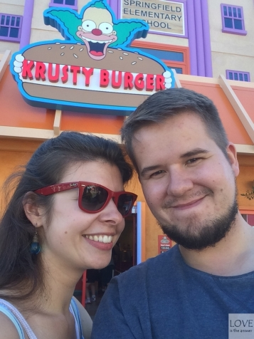 Krusty Burger - Universal Studios Hollywood