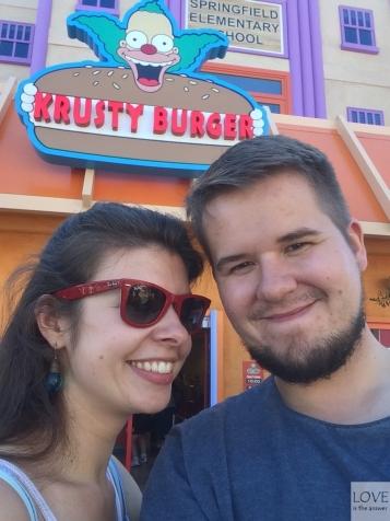 Krusty Burger - Universal Studios Hollywood