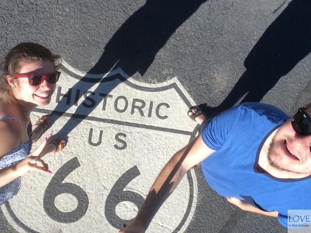 jesteśmy na Historic Route 66 ! :D