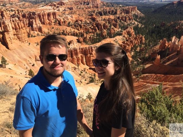 razem w Bryce Canyon