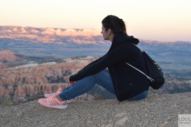 zachód w Bryce Canyon