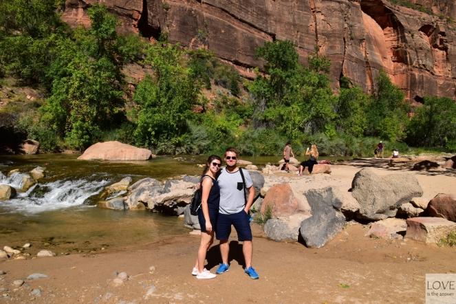 razem w Zion National Park