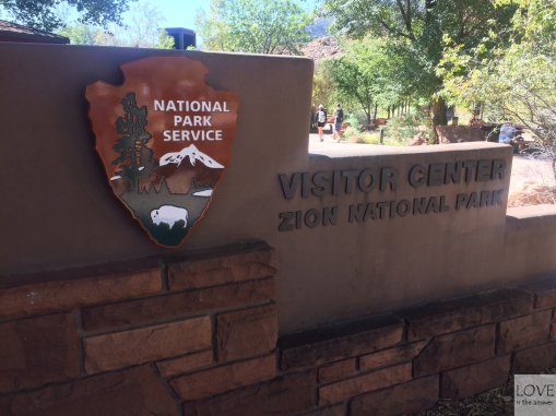 Visitor Center w Zion National Park