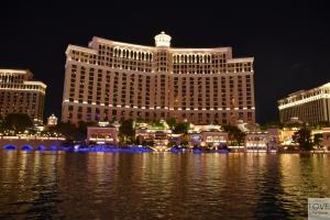 Hotel i fontanny Bellagio w Las Vegas