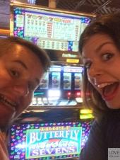 w kasynie w Las Vegas