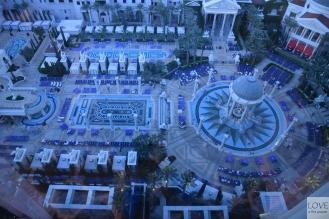 Baseny Caesars Palace Las Vegas