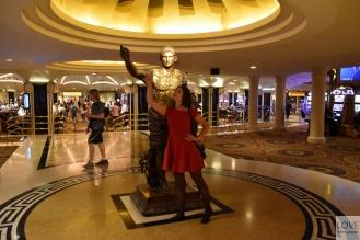 Karina i Juliusz w Caesars Palace Las Vegas