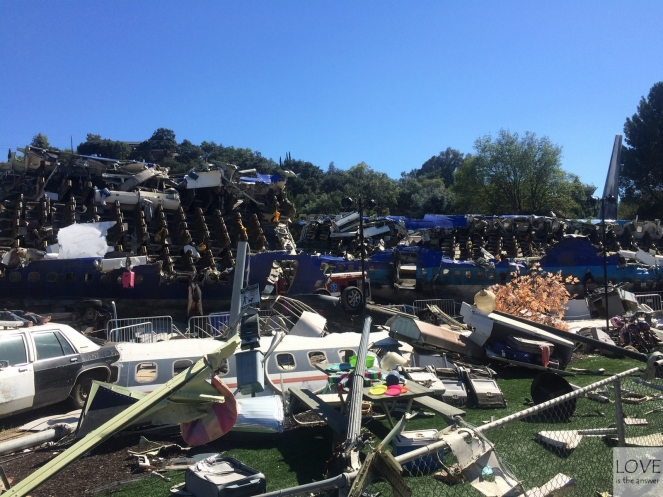 Katastrofa samolotu w Universal Studios Hollywood