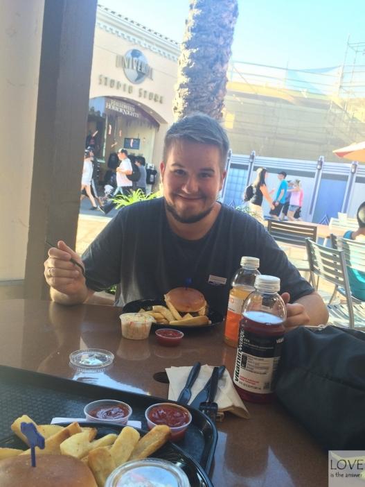 jedzonko w Universal Studios Hollywood