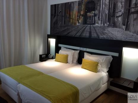 Nasz pokój w hotelu Jupiter w Lizbonie