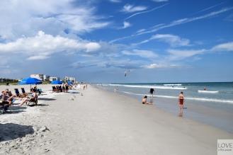 Plażowanie w Cocoa Beach